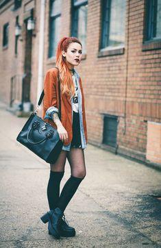 Rusty orange // Luanna, Lehappy