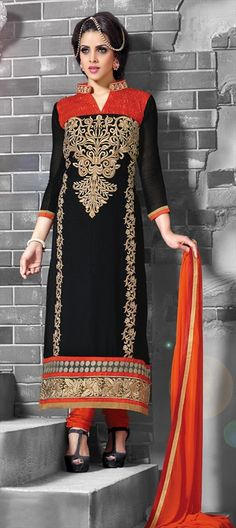 BLACK MAGIC - this color is never fading off. SalwarKameez