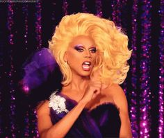 Image result for rupaul gif
