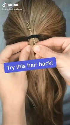 Easy Hairstyles For Long Hair, Girl Hairstyles, Running Late Hairstyles, School Hairstyles, Braided Hairstyles, Hairdos, Videos Of Hairstyles, Updos, Wedding Hairstyles