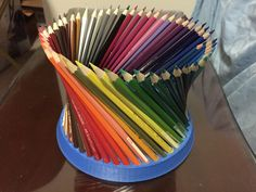 Customizable fancy pencil holder (you choose the number) by net_id.
