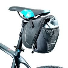 Buy Deuter Bike Bag Bottle Saddlebag - Black here at ProBikeKit UK - with great prices on bikes, components and clothing, and with free delivery available! Bike Seat Bag, Bike Saddle Bags, Bicycle Bag, Cycling Bag, Cycling Outfit, Cycling Clothing, Bike Handlebars, Mtb Bike, Bike Cup Holder