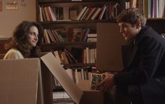 Jenny Slate and Jake Lacy in Obvious Child (2014), directed by Gillian Robespierre