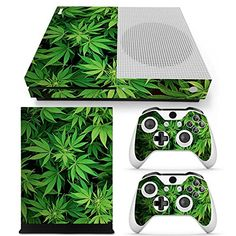 GoldenDeal Xbox One S Console Controller and Kinect Skin Set  Weed  XboxOne Vinyl >>> Details can be found by clicking on the image.Note:It is affiliate link to Amazon.
