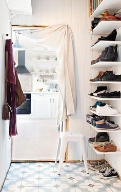 Idéias Criativas utilizadas para decorar um apartamento pequeno,mas cheio de graça na Noruega