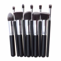 10 Pcs Makeup Brush Set Cosmetics Foundation Blending Blush Makeup Tool Powder Eyeshadow Cosmetic Set