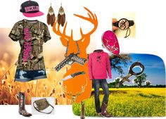 camo princess, created by samantha-edlin on Polyvore