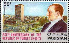 Pakistan 1973 Turkish Republic SG 359 Fine Mint  SG  357 Scott 354