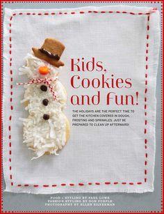 Kids, Cookies & Fun! via @Sweet Paul Magazine on @LaylaGrayce Blog! #laylagrayce #blog