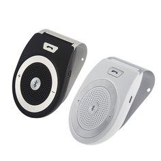 check price 2016 high quality wireless bluetooth car kit speaker speakerphone handsfree car #speaker #kits