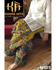 PHULKAARI Luxury Embroidered Lawn Eid Collection Replica Fabric: Lawn Embroidered Lawn Shirt Front Plain Lawn Back Embroidered Lawn Sleeves Embroidered Neck Embroidered Daman Embroidered Chiffon Dupatta Embroidered Lawn Trousers Included Simple Pakistani Dresses, Pakistani Dresses Online, Pakistani Fashion Casual, Pakistani Dress Design, Pakistani Outfits, Indian Fashion, Stylish Dresses For Girls, Stylish Dress Designs, Girls Dresses