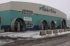 Alaska Airlines terminal, Barrow, Alaska.