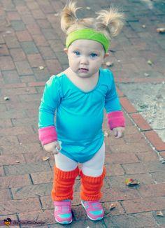 Jane Fonda - Cute Baby Halloween Costume Idea