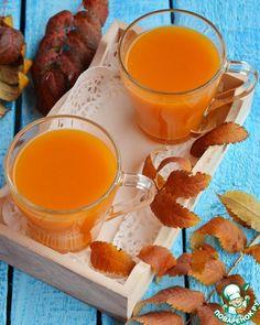 """Напиток с мякотью """"Осеннее золото"""" – кулинарный рецепт Fondue, Honey, Cheese, Ethnic Recipes"""
