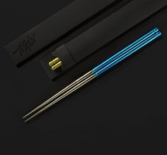 Introducing TiStix, the original #titanium #chopsticks designed by Alan Folts and brought to you by Eatingtools.