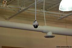 Indoor dome surveillance security HD camera installation by A.S. SECURITY & SURVEILLANCE INC