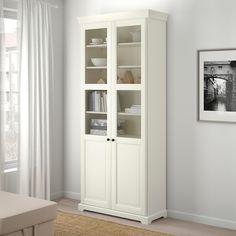 LIATORP Vitrina, blanco, 96x214 cm - IKEA