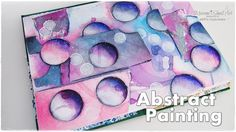 Abstract Bubble Shading Art Painting Tutorial for Beginners ♡ Maremi's Small Art ♡ - YouTube