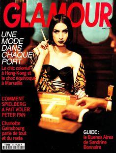 Glamour France March 1992, 'Les Amants De Hong-Kong', Ph: Mikael Jansson, Model: Lee Watson