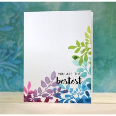 Altenew Clear Stamps, Floral Shadow -