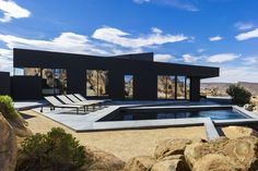 Black Desert House / Oller & Pejic Architecture // via O'More professor C Kevin Coffey