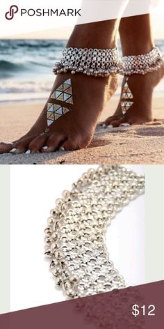 Beautiful Boho Anklet Sexy Silver Anklet Chain Ankle Bracelet? Jewelry