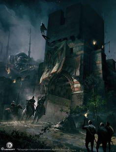 Assassin's Creed Revelations Concept Art, Martin Deschambault on ArtStation at http://www.artstation.com/artwork/assassin-s-creed-revelations-concept-art-f5c354bc-c6ae-41c2-901f-181e23dca2c1