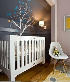 Baby boy nursery colors