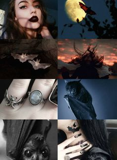 """Animal Witch Aesthetics // Bat Witch """"Requested """" Owl Witch 