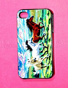 iphone 4 Case, iPhone 4s case Colorful Horse