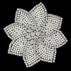 Hey, I found this really awesome Etsy listing at https://www.etsy.com/listing/158912741/large-crystal-pearl-flower-applique