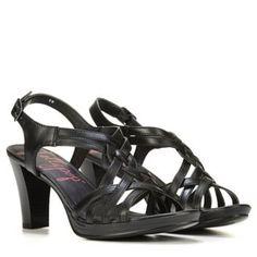 Jellypop Women's Ena Dress Sandals (Black) - 11.0 M | 60% OFF