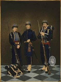 William Murray And Two Soldiers, 53rd Maryland Infantry, C.s.a.