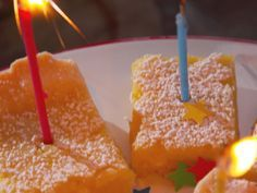 Farmhouse Lemon Bars recipe from Nancy Fuller via Food Network