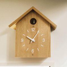 . #無印良品 #無印良品の家 #木の家 #時計 #鳩時計 #MUJI #MUJIHOUSE #clock #cuckooclock  #interiordesign  #vsco