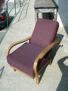 Reversible Restaurierung des Holzgestells und der Polsterung Sunroom Playroom, Restoration, Banquette Bench, Pool Chairs, Timber Wood