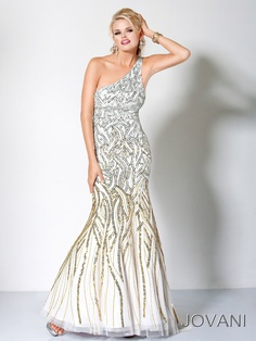 Silver and Gold Jovani #Prom Style 172094