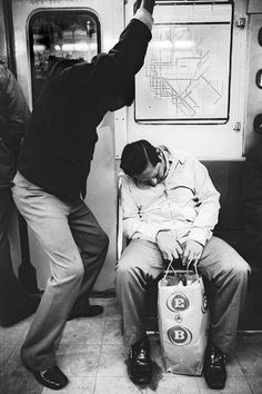 Subway, NYC, 1970s