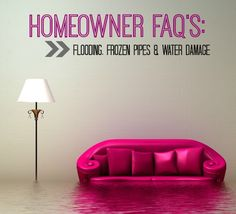 Top questions from homeowners about flooding, frozen pipes, and water damage.