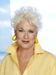 Sharon Gless,   Beautiful lady!!/••••Formerly of Cagney & Lacey, w/Tyne Daly.  Excellent actresses who carried the lead in a prime time crime drama.