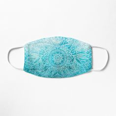 """Fade to Teal - watercolor + doodle"" Mask by micklyn 