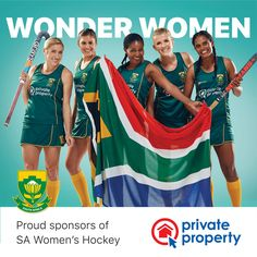 Private Property believes that strong partnerships are the key to success. We are privileged and proud to be behind the SA Women's Hockey team. Women's Hockey, Field Hockey, Private Property, African Women, Success, Strong, Sports, Hs Sports, Hockey