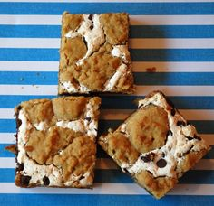 S'mores bars. My new favorite summer dessert! So easy and delicious.