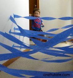 Fun Indoor Activities for Toddlers - Paper Web