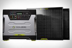 Awesome Yeti Solar Power Generator From Zero