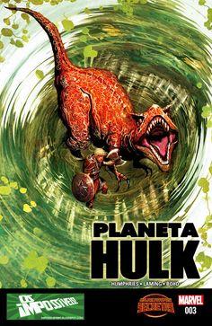 SAM-COMICS: Planeta Hulk V2 03 - Guerras Secretas (2015)