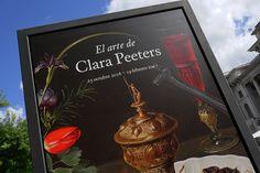 Cartel de la exposición de Clara Peeters en el Museo del Prado #Madrid #Cartel #Affiche #Arterecord 2016 https://twitter.com/arterecord