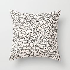 Buy A Lot of Cats by Kitten Rain as a high quality Throw Pillow. Worldwide shipping available at Society6.com. Just one of millions of products available.