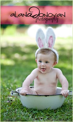 Baby Photography | Easter Bunny