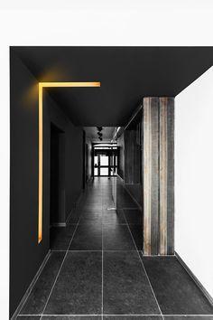 Atelier Ma² - Metzger & Associés Architecture | Intérieur, couloir. © Serge Anton